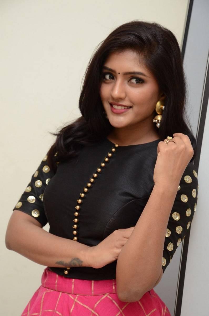 Eesha Glamorous Photos In Black Dress