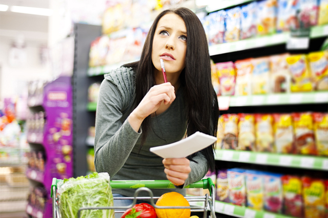 Grocery shopping list to save you from weight gain!
