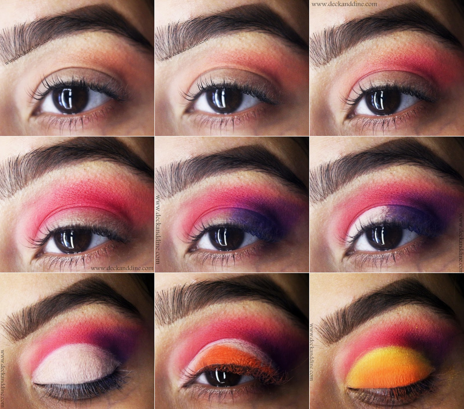 Cloud Eye Makeup Tutorial With Step By Step Pictures Deck And Dine