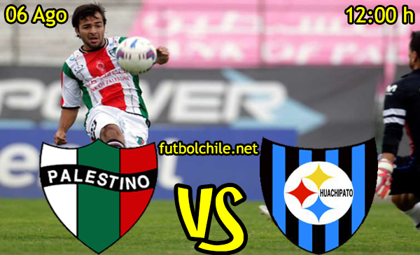 Ver stream youtube facebook movil android ios iphone table ipad windows mac linux resultado en vivo, online: Palestino vs Huachipato