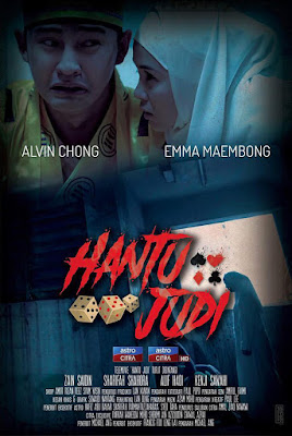 Hantu Judi, Telemovie, Telefilem, Telemovie Hantu Judi, Telefilem Hantu Judi, 2018, Astro Citra, Citra Exclusive, Hantu Judi Cast, Pelakon Telemovie Hantu Judi, Alvin Chong, Emma Maembong, Zain Saidin, Sharifah Shahora, Alif Hadi, Kenji Sawahi, 2018, Pengarah Michael Ang, Komedi Seram, Lawak,