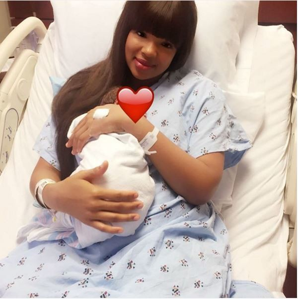 Wizkid 2nd baby mama and child