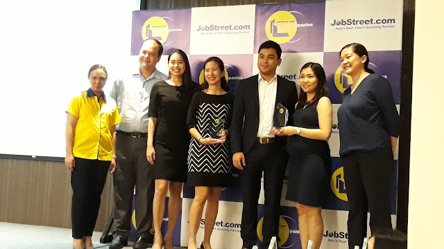Regional awardees this year include Bank of the Philippine Islands for Central Luzon, Shell companies in the Philippines for CALABARZON, and Aboitiz for Central Visayas.