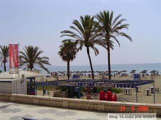 praia em Málaga