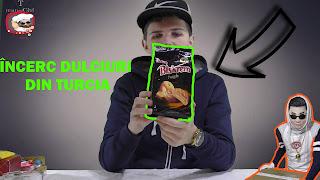 Biscuiți Ulker Biskrem Piersică Peach - taste test review video pret gust miros de unde cumpar review