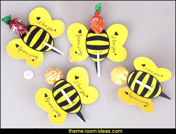 lollipop cover yellow bee design children birthday wedding candy decorate holiday Christmas gift packaging  bee themed party - bumble bee decorations - Bumble Bee Party Supplies - bumble bee themed party - Pooh themed birthday party - spring themed party - bee themed party decorations - bee themed table decorations - winnie the pooh party decorations - Bumblebee Balloon -  bumble bee costumes