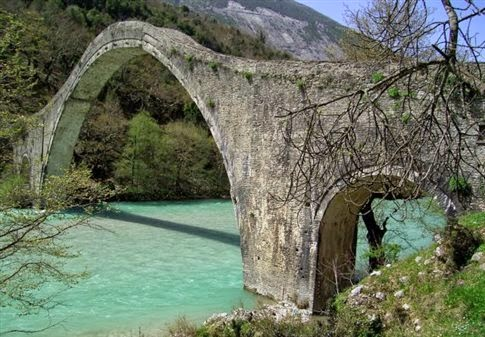 Plaka Bridge, Epirus
