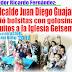 Por indicaciones del Alcalde Juan Diego Guajardo el Regidor Ricardo Fernández, entregó bolsitas y juguitos a niños de la Iglesia Getsemaní