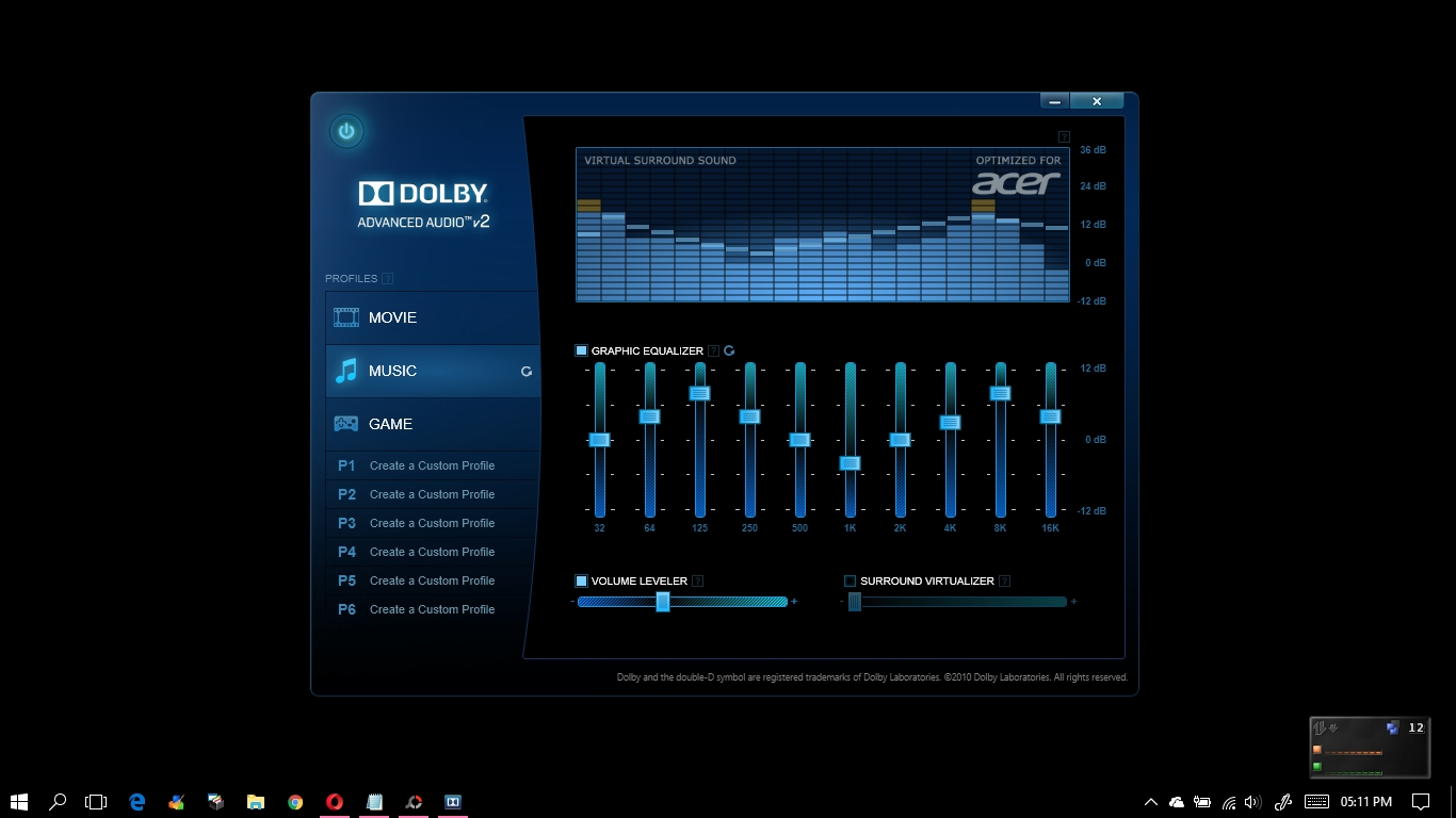 Dolby Advanced Audio Driver Free Download For Acer