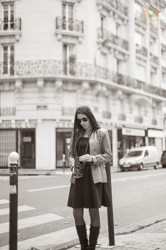 Atelie Basile Um Vestido Em Paris