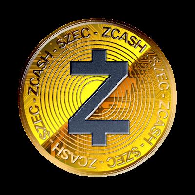 仮想通貨ジーキャッシュのフリー素材(金貨ver)