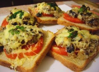 горячие бутерброды, рецепты