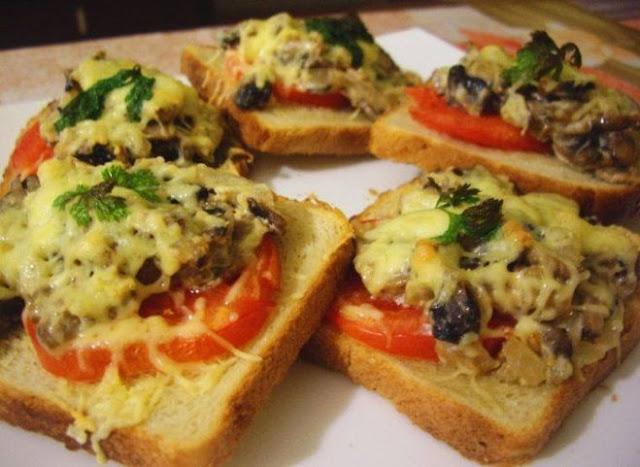 Горячие бутерброды: рецепты и советы