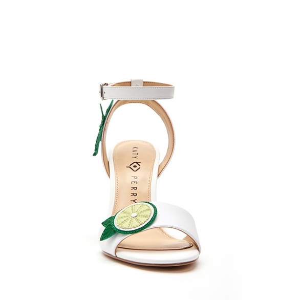 732439d4f32f Freshly squeezed style. put some sweet in your step with these charming  striped lemonade sandals finished off with ombre lucite heel.