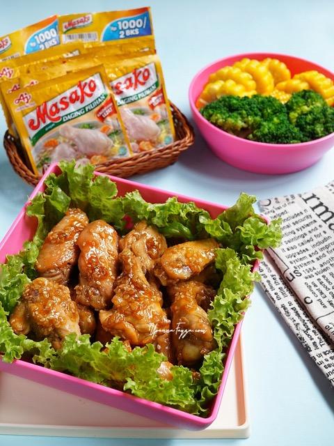 My Dailosophy Resep Ayam Saus Madu Wijen Bekal Praktis Untuk Travelling