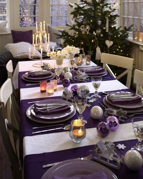 como arrumar mesa natal