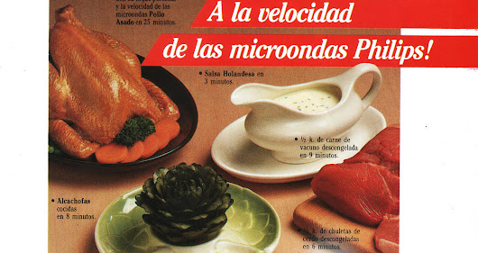 REVISTA PAULA: MICROONDAS PHILIPS.