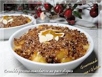 http://gourmandesansgluten.blogspot.fr/2017/01/crumble-pomme-mandarine-au-pain-depices.html