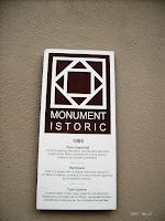 Turn clopotnita, 1904; Monument istoric.