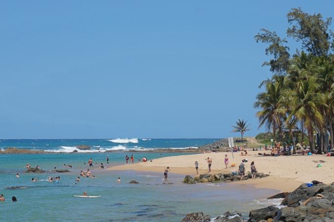 Vanha San Juan / Puerto Rico Karibian risteilyllä - kokemuksia lasten kanssa uimarannalta