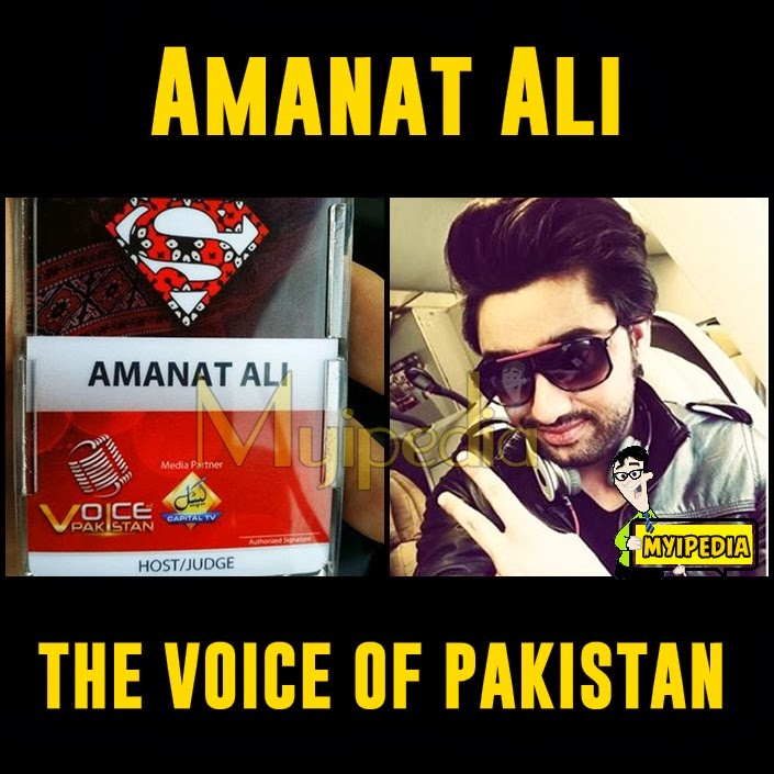 Amanat ali The judge for Voice of Pakistan | Myipedia | TVC
