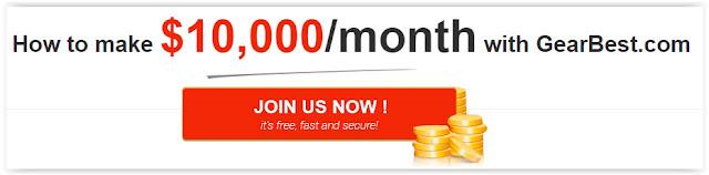 como ganhar dinheiro com o Programa de Afiliados GearBest