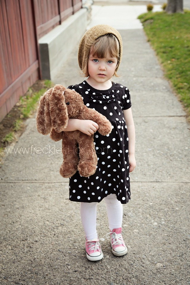 351230a7e2b9 The Freckled Fox  What She Wore   polka-dots and converse