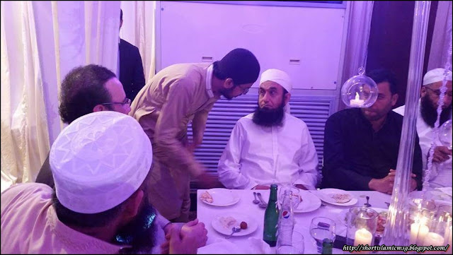 Moulna Tariq Jameel In Taimoor Jamshed Marriage