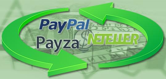 troca trocar dinheiro money paypal payza neteller processador exchange ganha ganhar