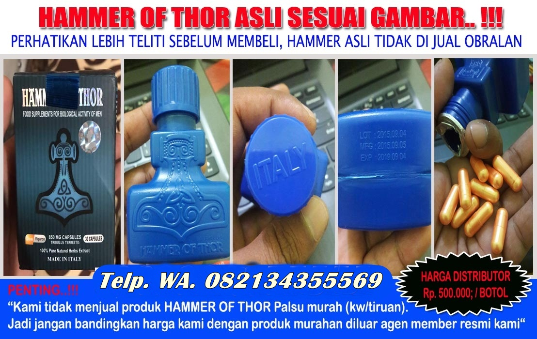 jual hammer of thor asli italy di tangerang