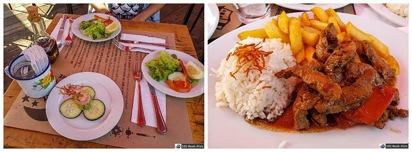 Almoço no Patio Bellavista em Santiago - Diário de Bordo Chile: 8 dias em Santiago e arredores