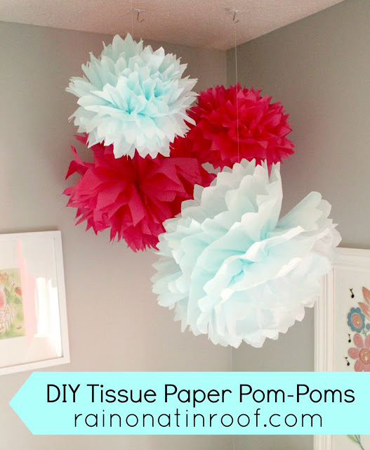 pom+poms+2 A Colorful Home Tour: Rain on a Tin Roof {Color My Home Summer Blog Series} 23