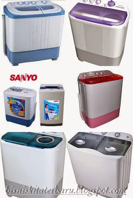 Daftar Harga Mesin Cuci SHARP,SANYO,TOSHIBA,SAMSUNG,PANASONIC,LG,DOMO Lengkap dengan Typenya