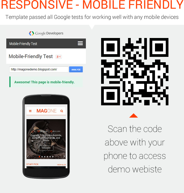 MagOne - Ultimate Blogger Magazine Template Reponsive Mobile Friendly