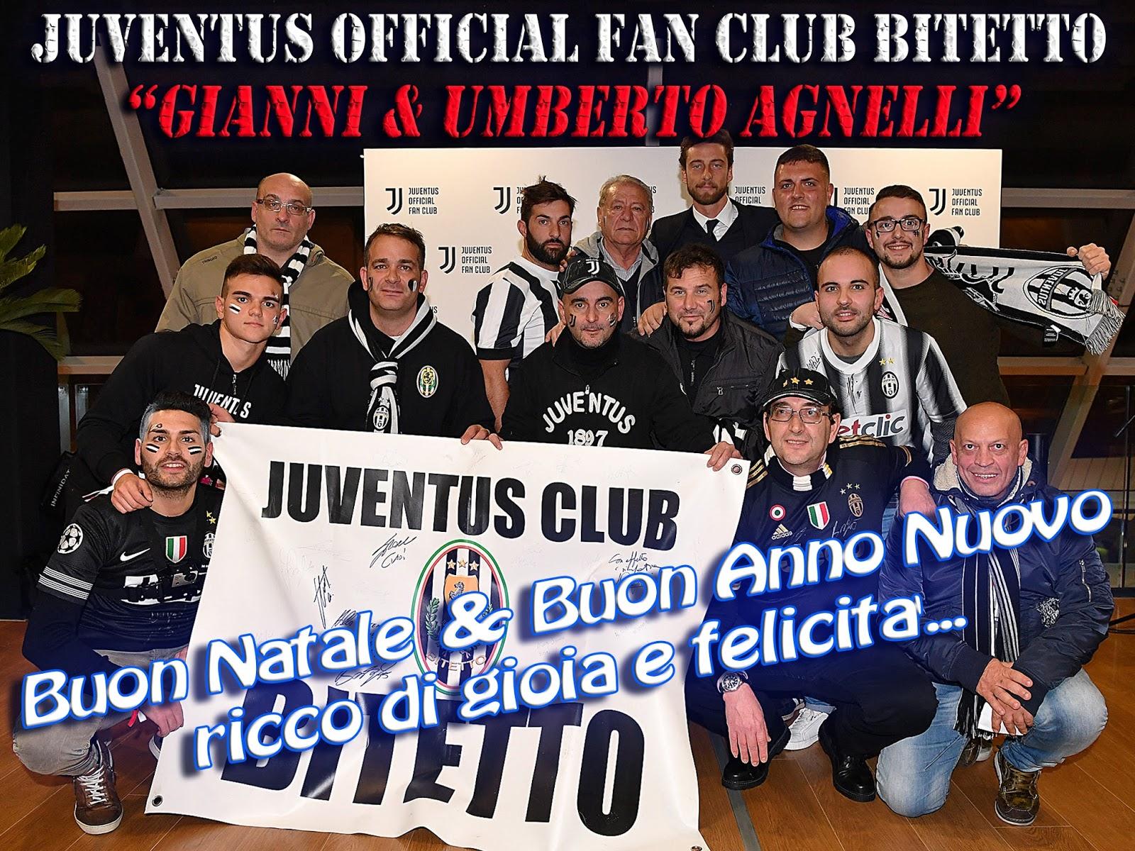 Auguri Di Buon Natale Juve.Juventus Official Fan Club Bitetto Gianni Umberto Agnelli Buon