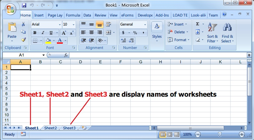 Difference Between Worksheet Display Names And Code Names