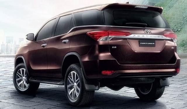 2017 Toyota Fortuner Redesign, Changes