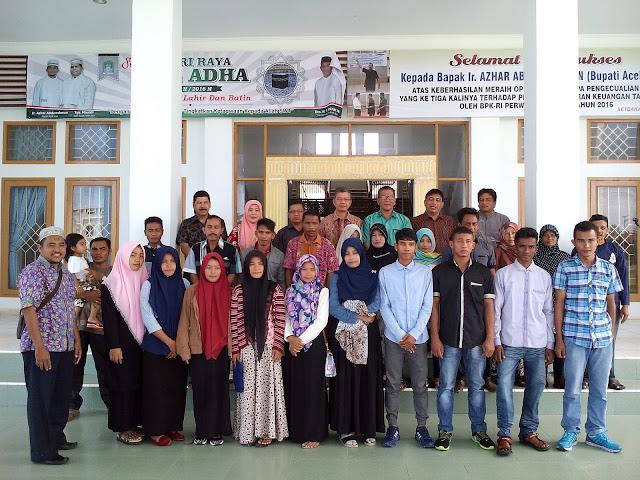 Beasiswa Miskin, Pelajar Aceh Jaya Dikirim ke Politeknik Venezuela