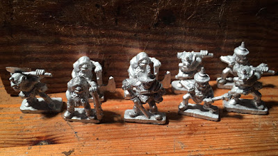 10mm Old School Styled Ogre Miniatures for Warmaster Games Kickstarter by Langley Models