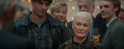 The Wife 2018 movie still Glenn Close Max Irons