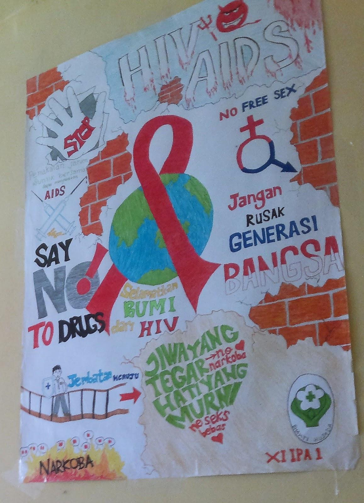Osis Smansa Kuala Tungkal Lomba Poster Hiv Aids