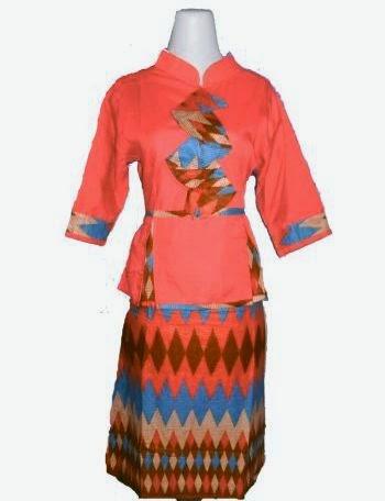 model baju batik berdasi