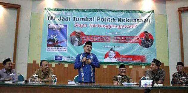 Konsekuensi Logis, NU Melemah karena Jokowi Gaet Maruf Amin