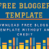 Download free blogger Template Without any Credit
