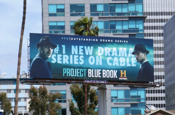 Project Blue Book season 1 Emmy FYC billboard