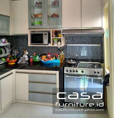 Kitchen set bsd nusaloka Tangerang