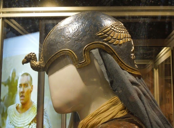 Exodus Gods and Kings Moses Egyptian General helmet detail