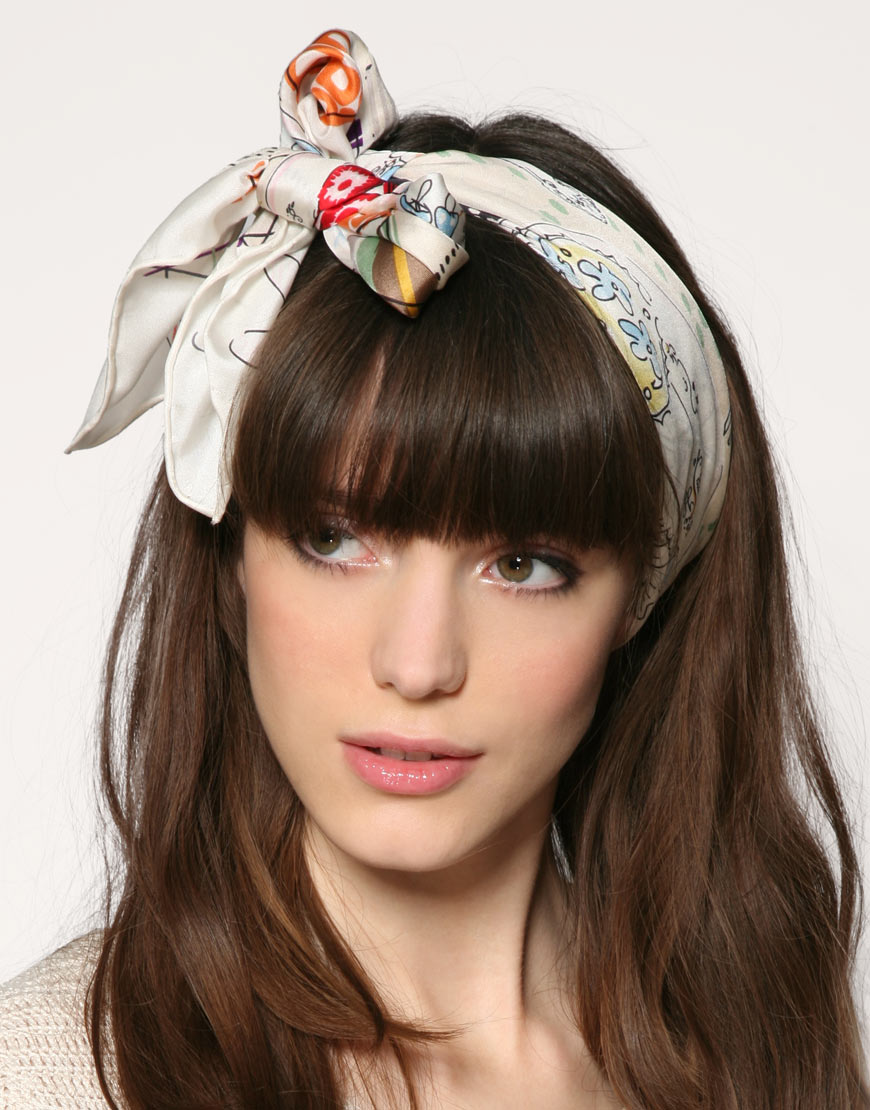 Head Scarves ~ Prom Hairstyles