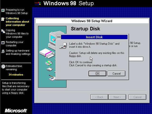 TreffpunktEltern de :: Thema anzeigen - windows 98 boot floppy image