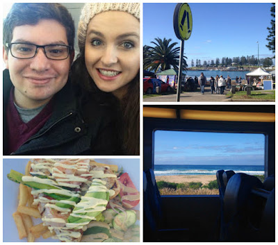 Taking a Train Ride Down the Coast to Kiama for Lunch - Cheap Weekend Things to Do in Sydney Collage